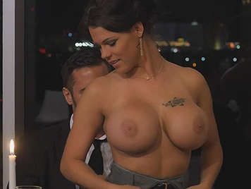 Glamour and sex with a beautiful busty mature