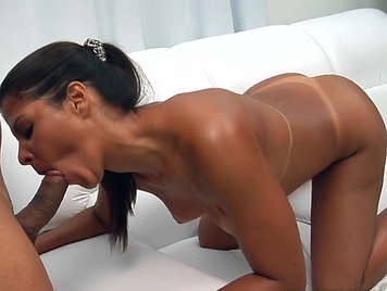 Sex with a Brazilian prostitute assed and busty