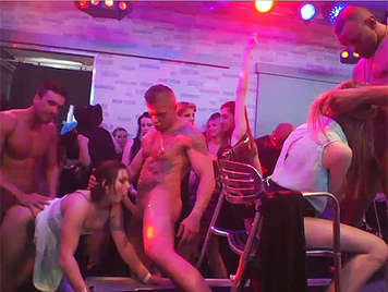 A European Bacchanal, with very dirty horny girls