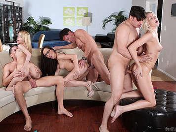anal fucking orgie