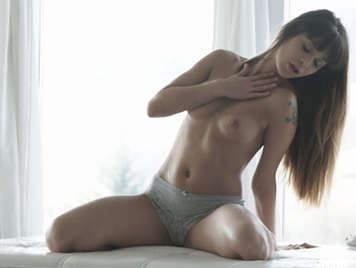 sensuality with the beautiful Mona Kim on porn video glamcore