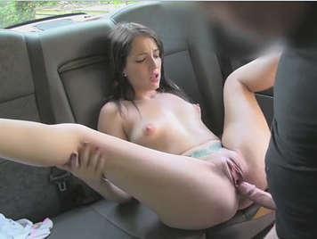 Taxi driver fucks the customer.