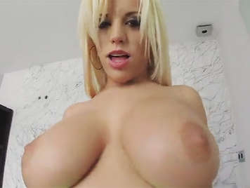Blonde Argentine girl with huge boobs and big ass fucked by the stallion Nacho Vidal