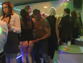 Wild sex party, jumping asses, big tits and spectacular blowjobs from vicious girls