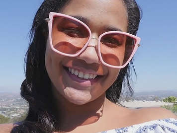 sex with a horny mulatto girl in glasses