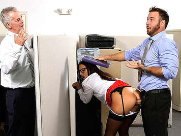 Fucking the boss's daughter she is a young secretary very bitch