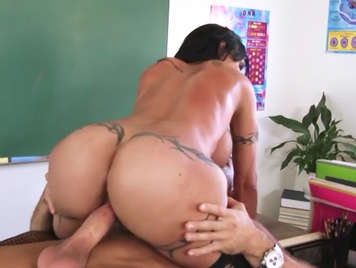 Fucking in the classroom with the teacher more whore of the school