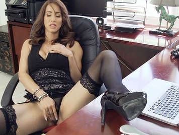 The secretary fucked with her boss a mature busty very vicious and demanding