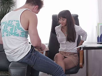 Hard sex with your secretary.
