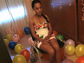 Noemilk's debut in porn on the day of her 18th birthday