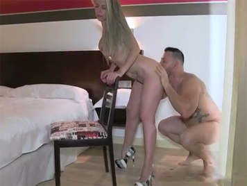 Amateur porn video with a Spanish mature woman