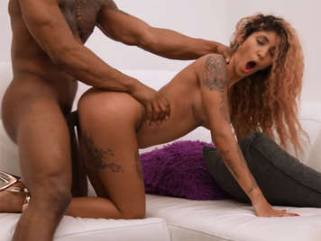 interracial porn video with goddess Venus Aphrodite