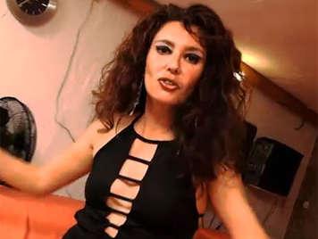 Horny amateur spanish milf loves anal sex