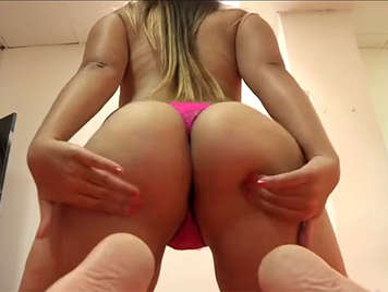 Gang bang with a busty amateur and five hard cocks only she