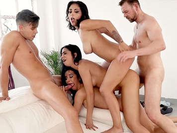 Euro orgy porn