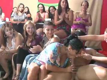 Bachelorette party, the best blowjobs
