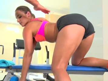 Fucking in the gym with Amirah Adara