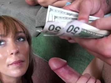 Young girl Fucking for money, rough sex