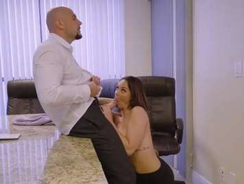 Obsessed with her boss fucks with her