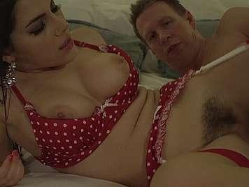 Italian busty Valentina Nappi fucked in slutty lingerie
