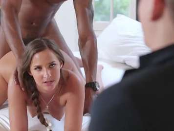 Infidelities fucking a black man in front of her husband