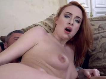 Redhead loves deep anal sex