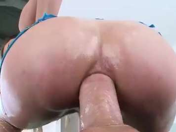 Brutal anal breaking the ass of a vicious blonde