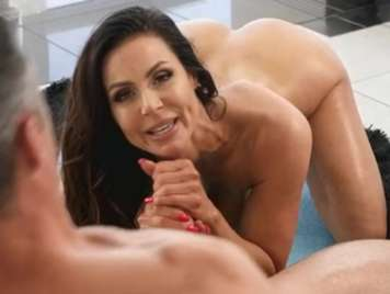 Mature with big breasts fucking like a bitch