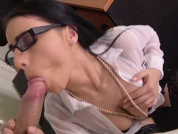Gafitas teacher well bitch receives facial cumshot