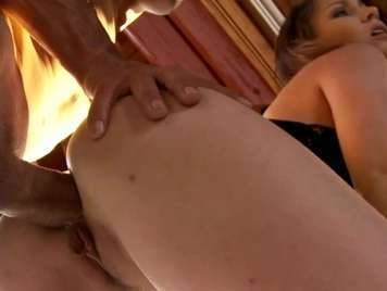 Blonde anal gets four and gets nailed hard