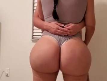 Homemade fucking with a big ass in my room
