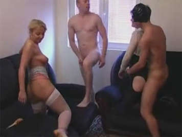 Small sexual party between couples