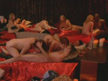 Massive swinger orgy