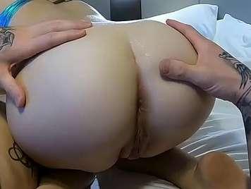 Home milk filling my girl's vagina