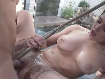 Super exciting shower