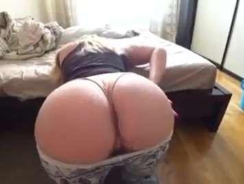 Homemade sex with my big ass girl