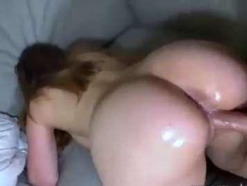 Home fucking good oily ass