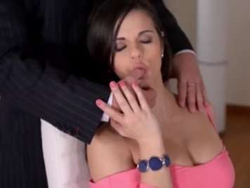 Nekane Busty secretary fucked at work