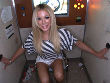 Amy Brooke in the Glory Hole