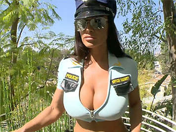 Lisa Ann is the perfect police