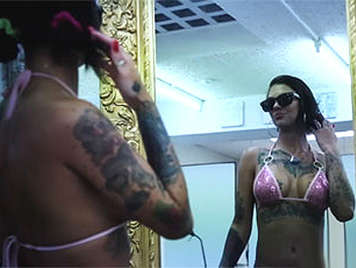 Bonnie Rotten, the perfect tattooed girl