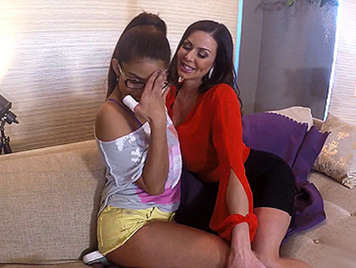 Kendra Lust pick up the babysitter