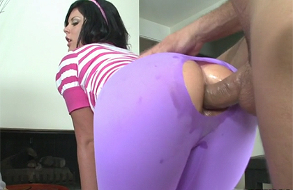 Bubble butt anal sex