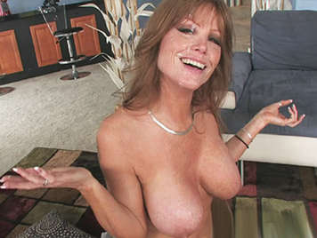 Beautiful busty MILF   anally fucked by a big cock