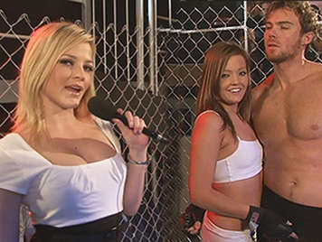 Porn Parody UFC fight with rough sex