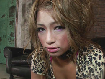Beautiful submissive Japanese girl with natural tits  is treated like a slave