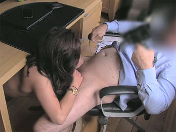 Fake agent fucking in the office with a job seeker
