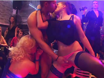 Sexual Chaos in wild hardcore party with a group of hot Czech girls