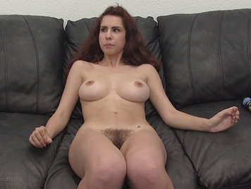 21 Years Old All Natural Lola fucking in her first casting porno