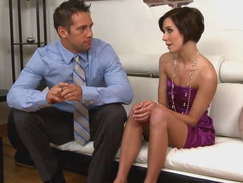 rich mature suck the cock of friend of her husband